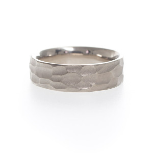 Rustic wedding band by Kendra Renee
