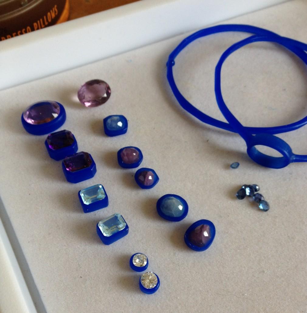 Custom jewelry gemstones