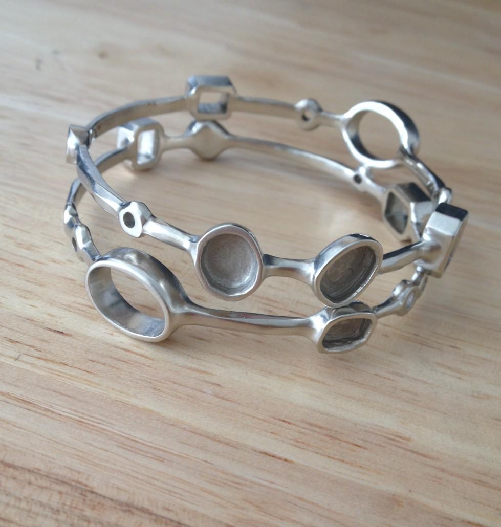 unfinished castings for custom bracelets