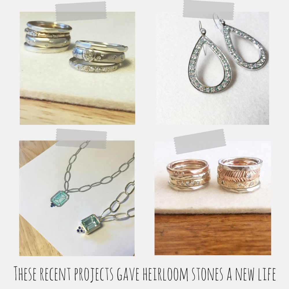 heirloom diamond jewelry
