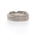 Rustic Handmade Wedding Band by Kendra Renee