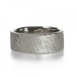 Rugged Handmade Wedding Band by Kendra Renee