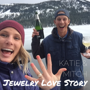 Katie and Mitch got engaged!