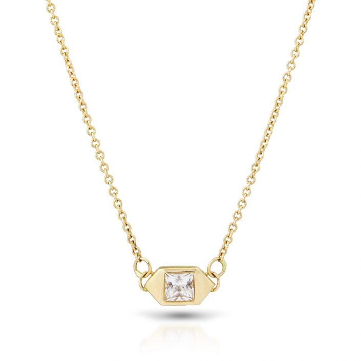 Everyday gold necklace by Kendra Renee