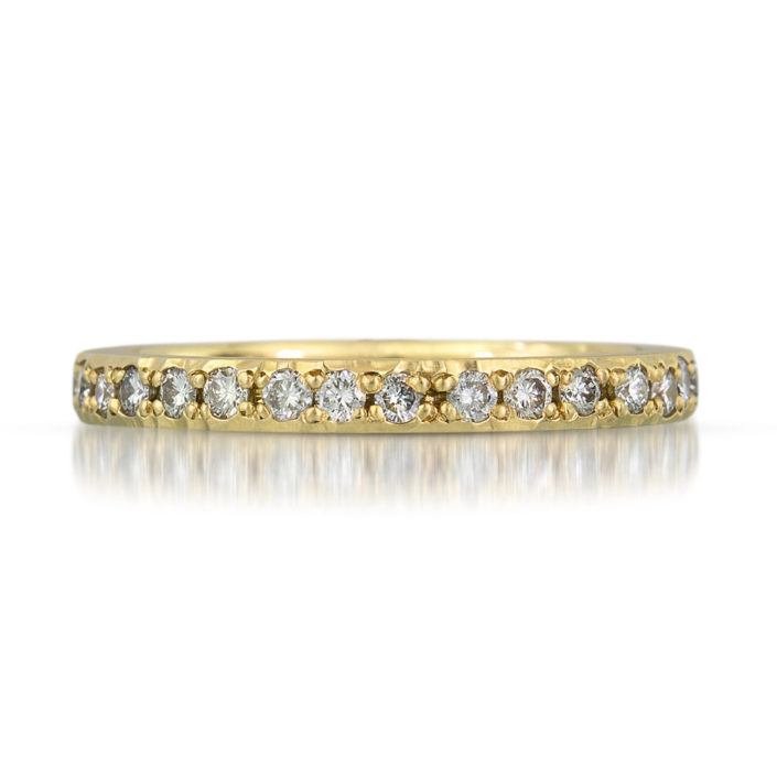 Unique eternity band by Kendra Renee
