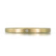 Propose with this simple gold and diamond ring